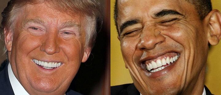 donald trump teeth